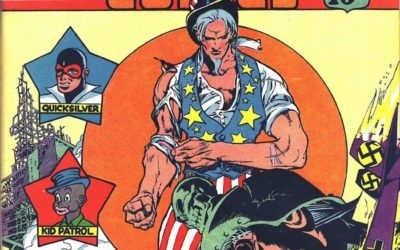 The Top 20 Nazi Punching Moments In Comics