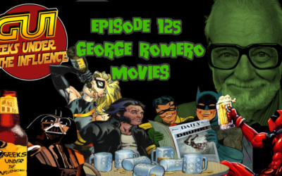 Geeks Under the Influence 125 – GEORGE ROMERO MOVIES: CHIMP AND THE FAT MAN